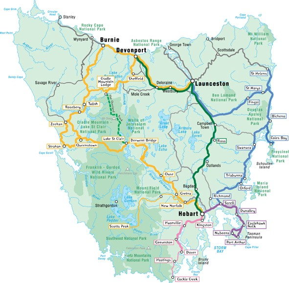 Amanda Palmer Map Of Tasmania The Ruckus Record