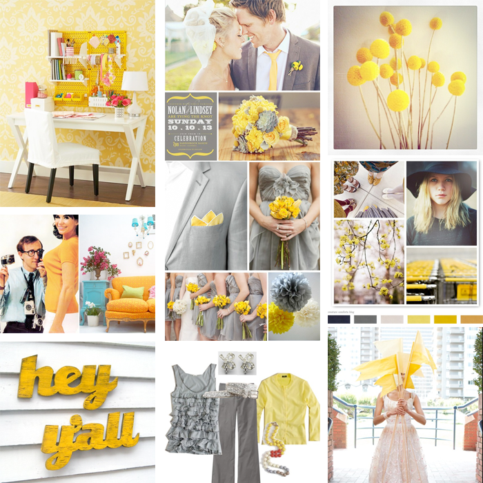 A grey yellow wedding 03 Sugarpond 39s Lollipops 04 sfgirlbybay 39s